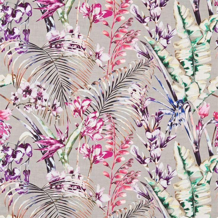 Harlequin - Designer Fabrics and Wallcoverings | Products | British/UK Fabrics and Wallpapers | Paradise (HAMA120352) | Amazilia Fabrics
