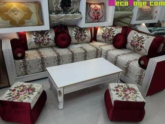 Agreable Salon Marocain Moderne Salon Marocain Moderne Pas Cher