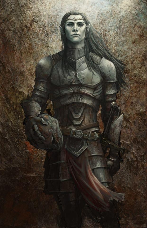 "In Norse mythology, svartálfar (Old Norse ""swarthy elves"" or ""black elves"", singular svartálfr) are beings who dwell in Svartálfaheimr (anglicized as Svartalfheim, ""world of black-elves"").[1] Both the svartálfar and Svartálfaheimr are primarily attested in the Prose Edda, written in the 13th century by Snorri Sturluson. Scholars have noted that the svartálfar appear to be synonymous with dwarfs and potentially also the dökkálfar (Old Norse ""dark elves"")."
