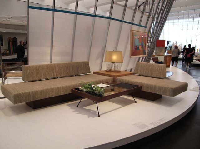 Calif. Design Exhibit 1960s Living Room...Iove that design of sofa set and tables!!!!