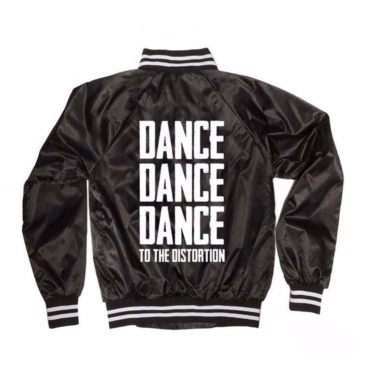 KATY PERRY DANCE DANCE DANCE BLACK VARSITY JACKET