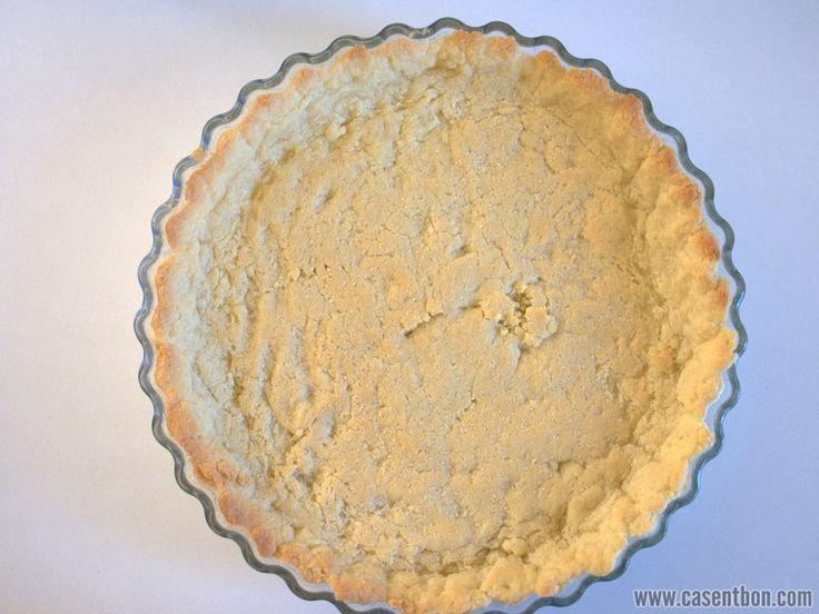 Pate sablee - precuisson de la pate sablee