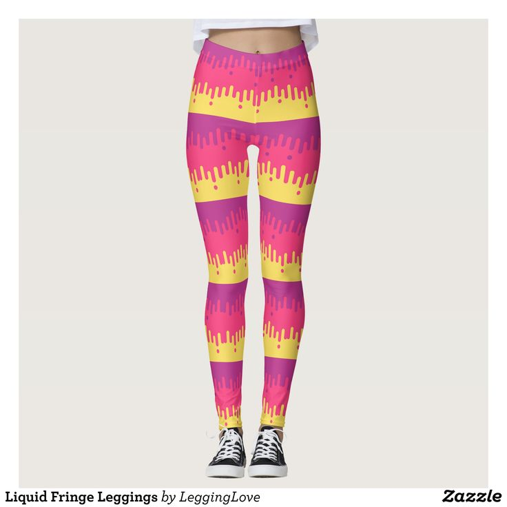Liquid Fringe Leggings : Beautiful #Yoga Pants - #Exercise Leggings and #Running Tights - Health and Training Inspiration - Clothing for #Fitspiration and #Fitspo - #Fitness and #Gym #Inspo - #Motivational #Workout Clothes - Style AND comfort can both be achieved in one perfect pair of unique and creative yoga leggings - workout and exercise pants - and running tights - Each pair of leggings is printed before being sewn allowing for fun designs on every square inch - Medium weight fabric is…