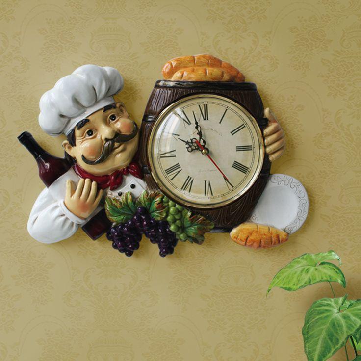 Fashion brief rustic mute 10 inchs Home decoration restaurant bar coffee shop wall clock pocket watch  quartz clocks