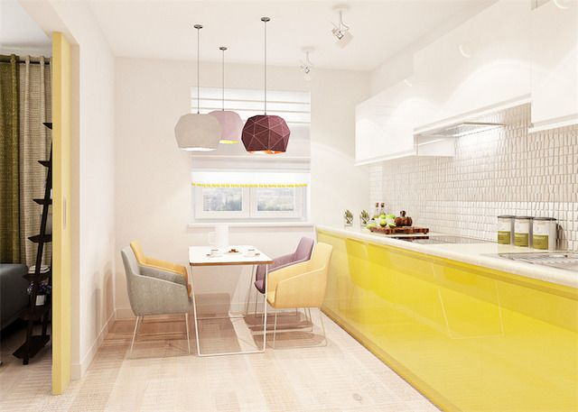 стол желтый на кухне: 18 тыс изображений найдено в Яндекс.Картинках