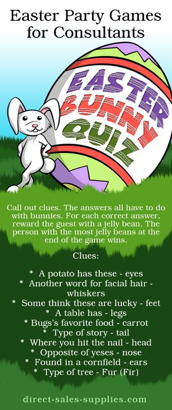 Fun Easter Games  Games for Easter Parties