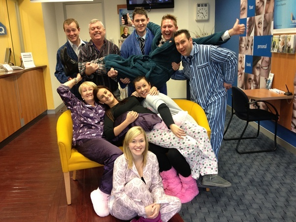 Our Penrith Branch featured in their local paper having a bit of fun...  http://www.penrithstar.com.au/news/local/news/general/pjs-at-boq/2608326.aspx