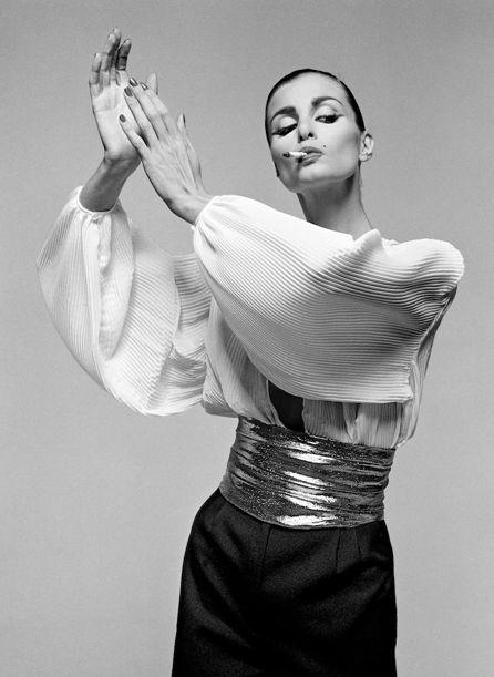Photo by Gian Paolo Barbieri, 1980, Apollonia, Vogue Italia.