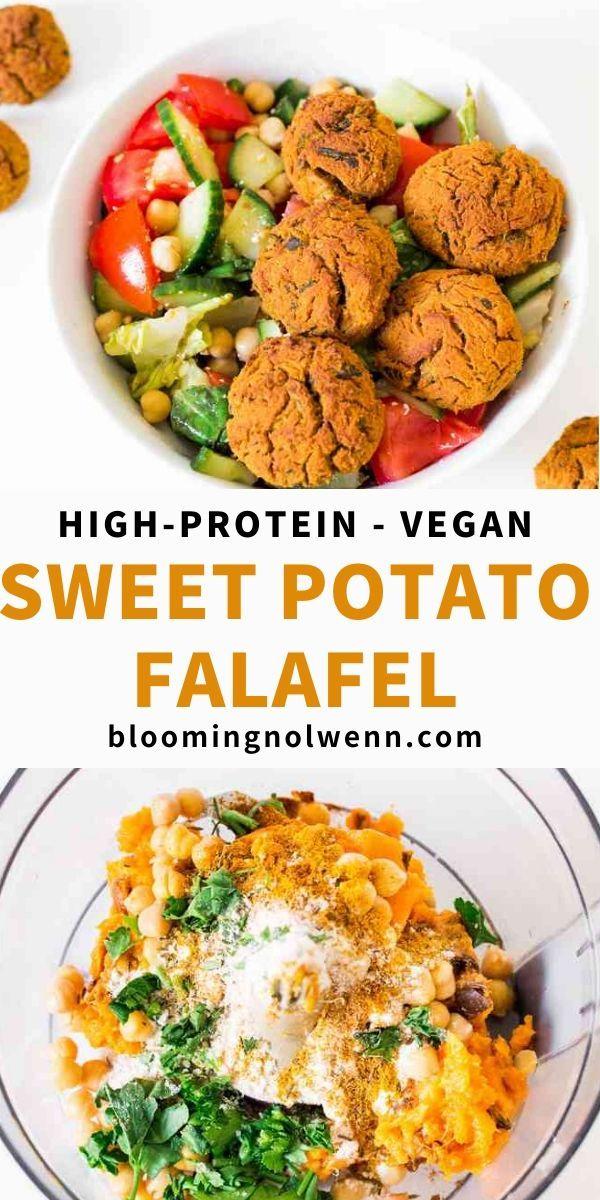 Vegan Sweet Potato Falafel High Protein In 2020 Vegan Recipes Healthy Vegan Recipes Easy Vegetarian Dishes