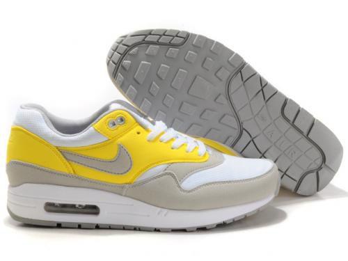 mens nike air max 1 yellow gold