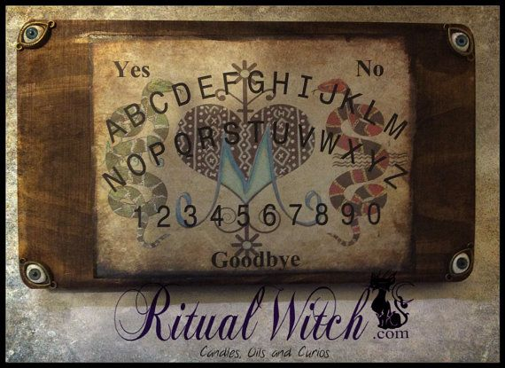 Hoodoo Voodoo Marie Laveau Blue Veve Spirit by RitualWitchShop