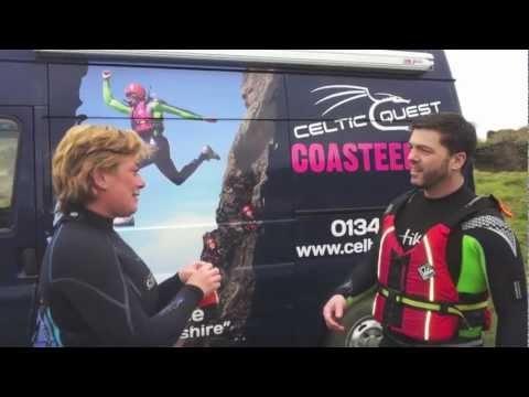 Stephen Crabb MP Coasteering