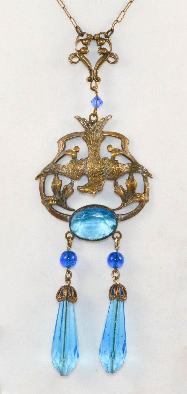 Czech Phoenix Vintage Necklace