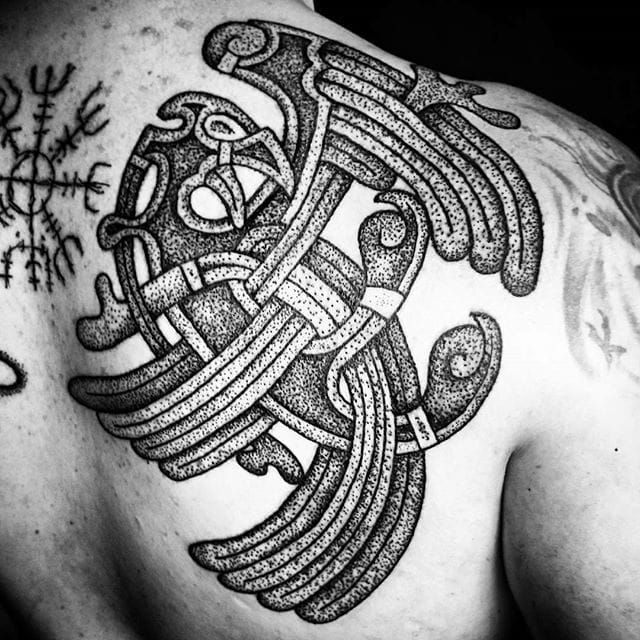 When talking about historical ethnic tattoos, we often forget that it's a tradition that existed in Europe too.
