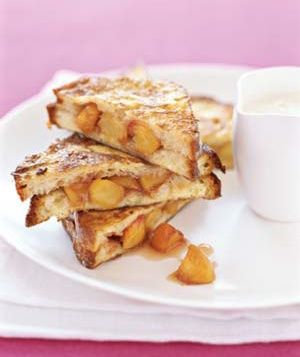 Peach French Toast #brunch
