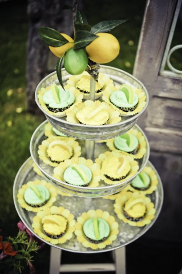 Lemon Lime birthday party! So cute! Via Kara's Party Ideas karaspartyideas.com #lemon #lime #party #ideas