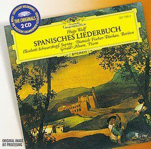 WOLF Spanisches Liederbuch -  Schwarzkopf - Deutsche Grammophon