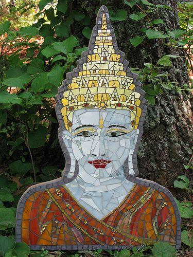 tibetan buddha   by thenatureofmosaica.com
