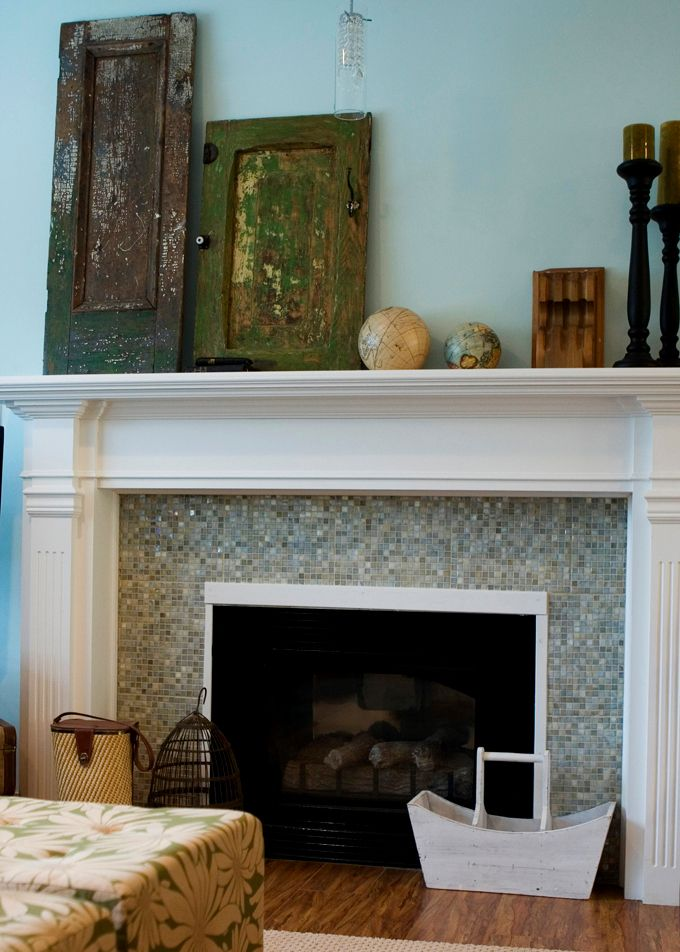 18 Best Brick Fireplace And Mantle Images On Pinterest