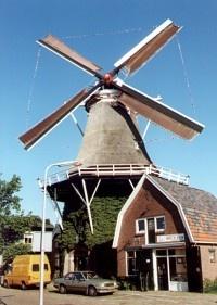 Korenmolen De Zwaluw in Hoogeveen, Netherlands. My home town!