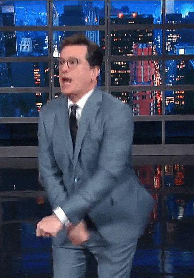 Fuck yeah Stephen Colbert! — truthiest: LSSC    2017.05.11