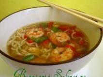 Rețetă Supa chinezeasca de creveti