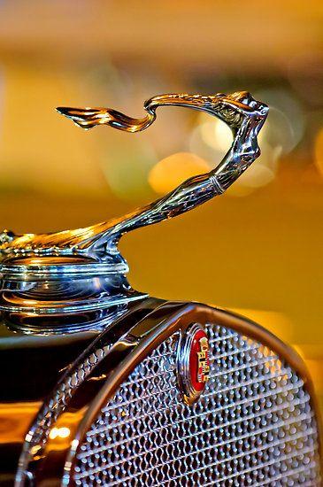 """1930 Cadillac V-16 Roadster """"Goddess"""" Hood Ornament 1 by Jill Reger"""