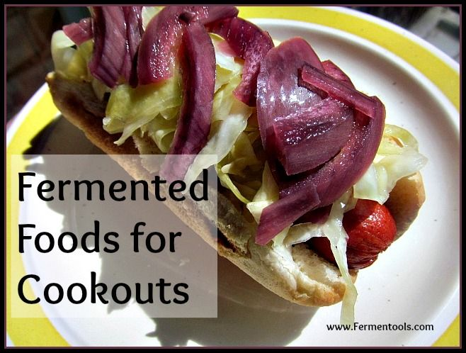 No need to spend hours searching the internet for easy #fermented foods for #cookouts. Ashley has rounded up over 40 recipes for you in this post. With everything from condiments to beverages, you can add fermented foods to your backyard barbecue with little effort.