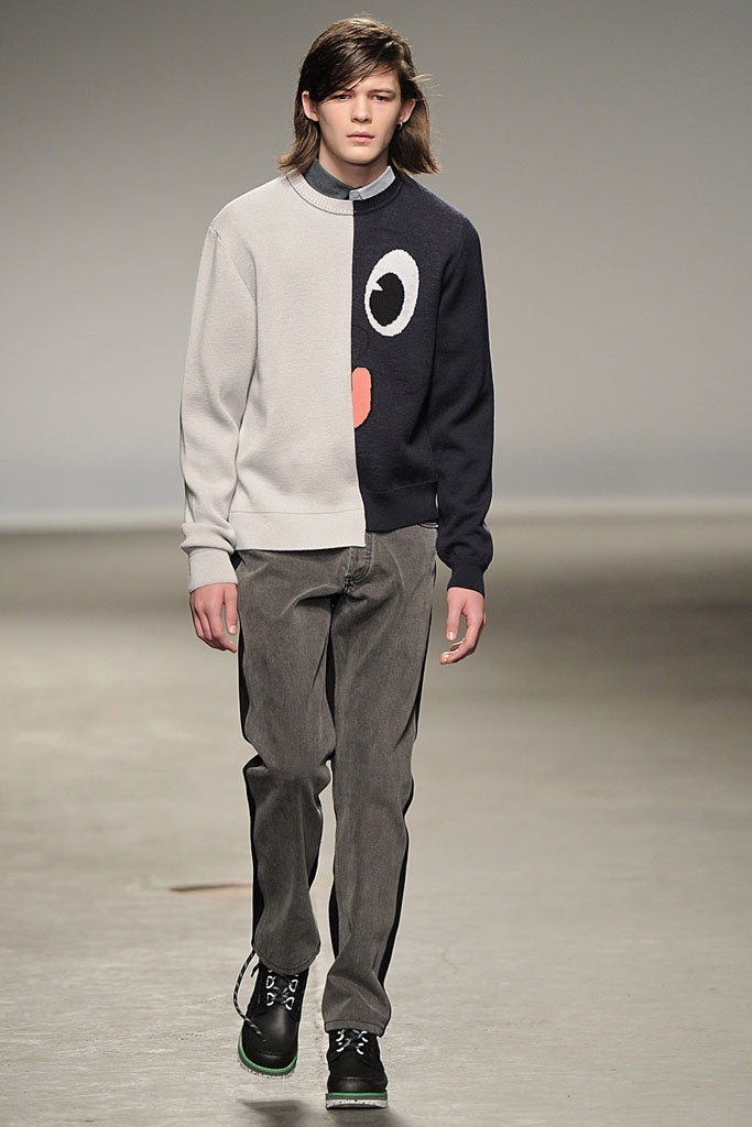 Christopher Shannon AW13 #LondonCollections