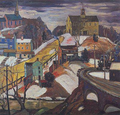 Fern I. Coppedge, Five O'clock Train Fine Art Reproduction Oil Painting
