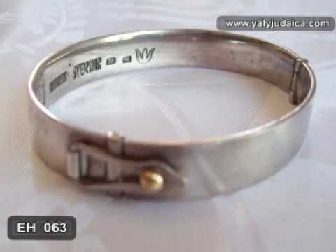 Silver Thick Men's Bracelets from Israel - http://videos.silverjewelry.be/bracelets/silver-thick-mens-bracelets-from-israel/