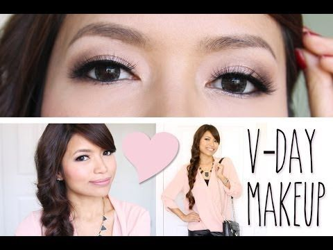Get Ready With Me Valentines Day Makeup Tutorial