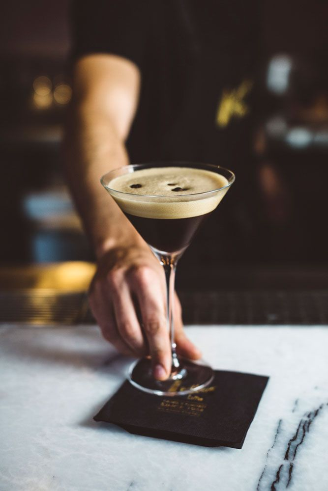 Too cold to go out? Make your own espresso martini at home with this recipe.