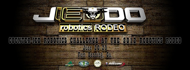 JIEDDO new Facebook banner for the Robotics Rodeo.