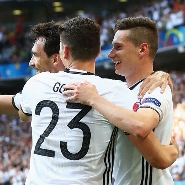 Mats #Hummels, Mario #Gomez e Julian #Draxler #Germania