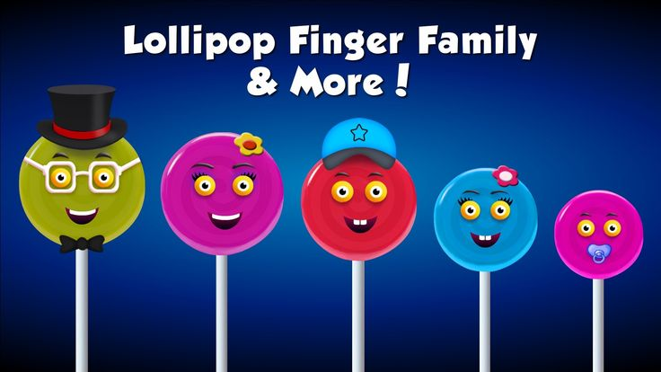Lollipop Finger Family Collection   Top 10 Finger Family Collection   Fi...