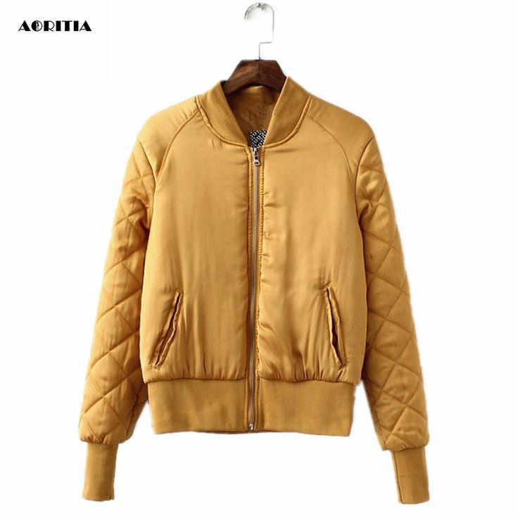 2016 Autumn Winter Bomber Jacket Women Aviator Jacket Army Green Baseball Jackets Chaquetas Mujer Jaqueta Feminina Coat Women-in Basic Jackets from Women's Clothing & Accessories on Aliexpress.com   Alibaba Group