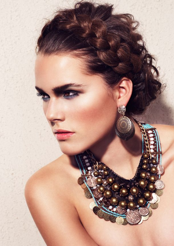 Love it all Hair, Makeup, and Jewelry  Try the look!