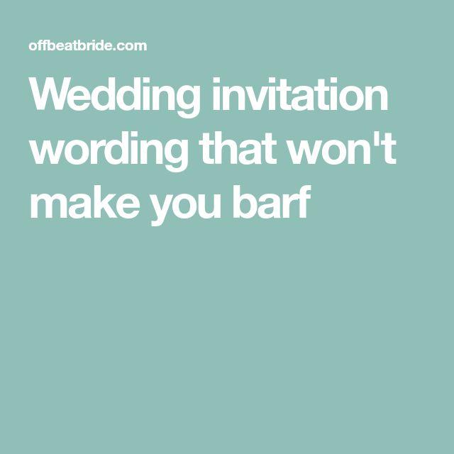 The 25 best Formal wedding invitation wording ideas on Pinterest