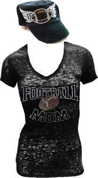 Football Mom hat AND shirt