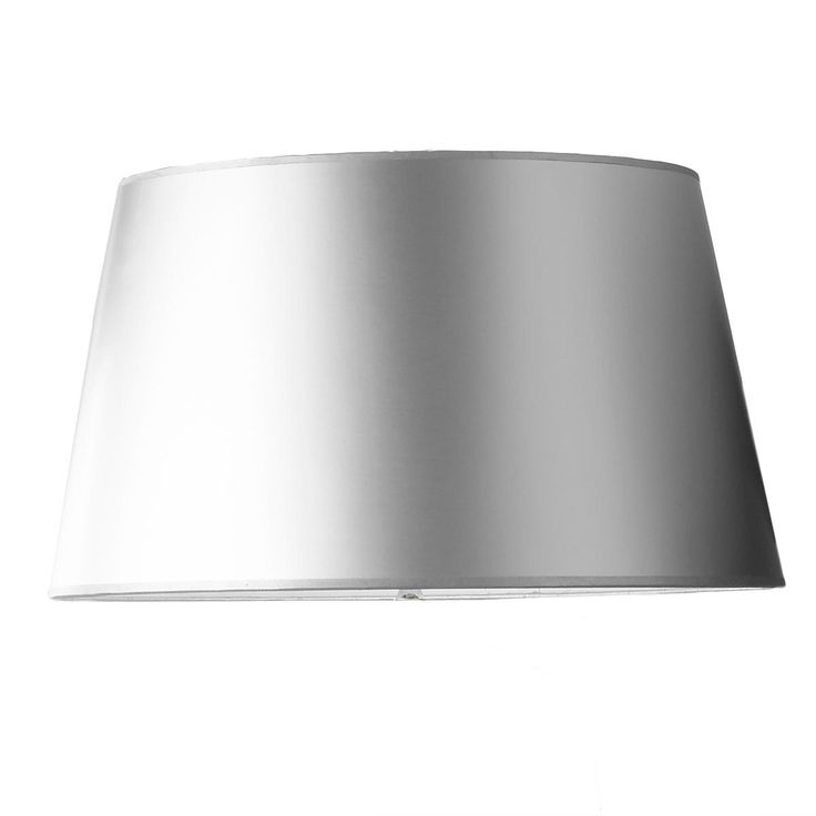 Silver Metallic Paper Lamp Shade