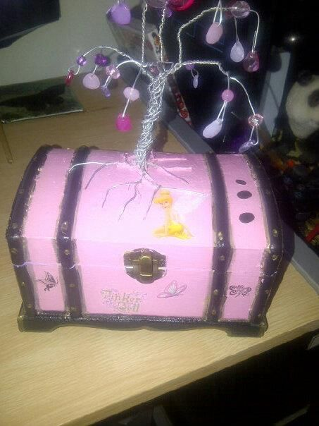 Finished feminine treasure chest  Gifted