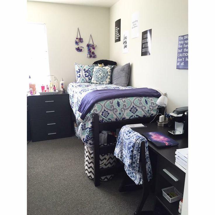 Best 20 Purple Dorm Rooms Ideas On Pinterest Girl Dorm