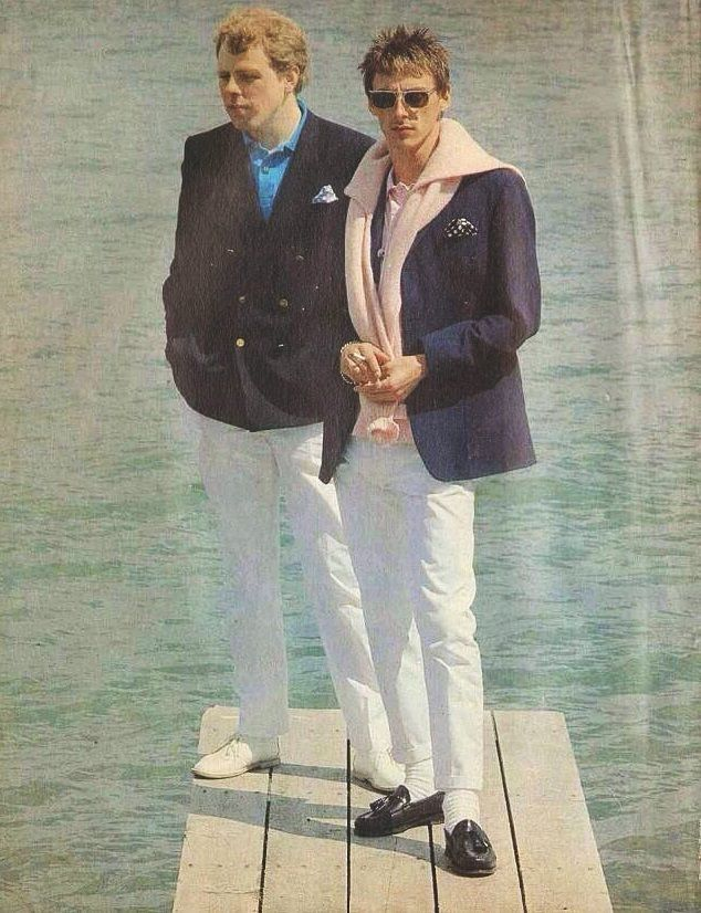 The Style Council Mick Talbot and Paul Weller