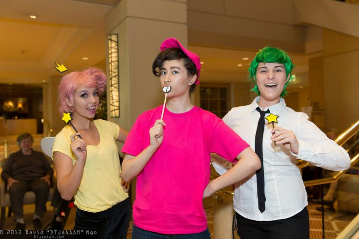 Wanda, Timmy Turner, and Cosmo from Fariy Odd Parents | PMX 2013 #cosplay