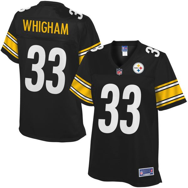 ... 49ers Joe Montana jersey Julian Whigham Pittsburgh Steelers NFL Pro  Line Womens Player Jersey - Black 2015 Women Football Jersey San Francisco  ... ea43cc0fd
