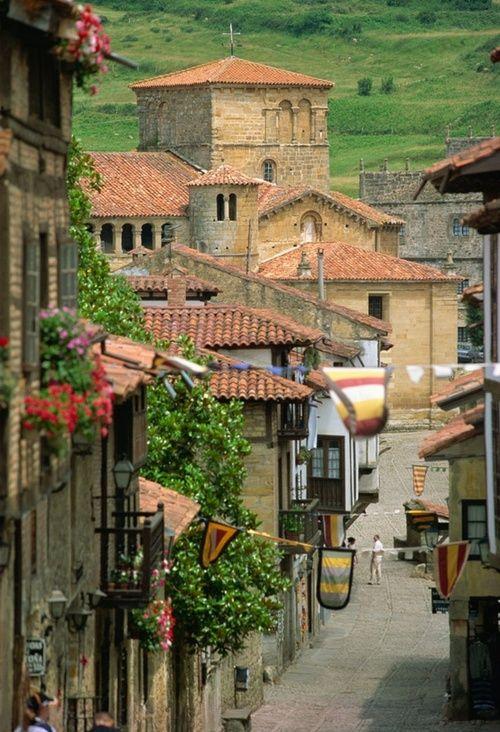 Santillana del Mar, Cantabria, Northern Spain