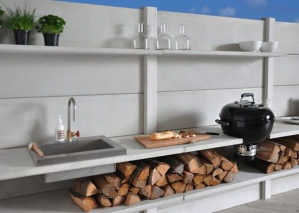 Wwoo outdoor kitchen system cooks up stylish story.....