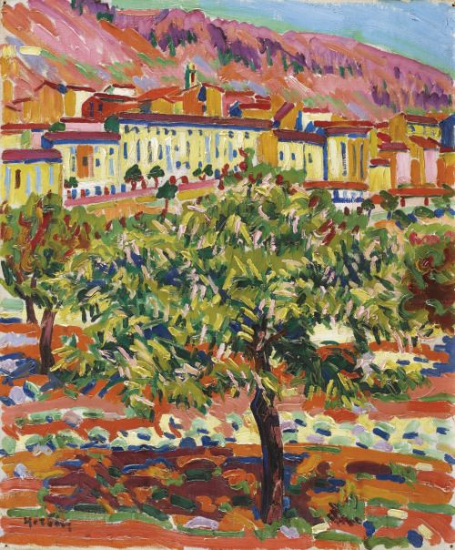lawrenceleemagnuson: Auguste Herbin (France 1882-1960)Corte,...