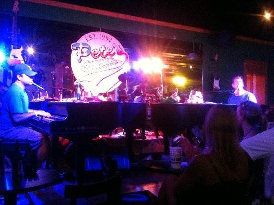 Pete's Dueling Piano Bar. Addison, Ft Worth, Austin.